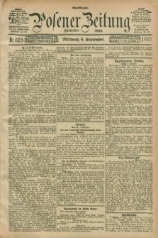 Posener Zeitung. Jg.100, Nr. 625 (6 September 1893) - Abend=Ausgabe.