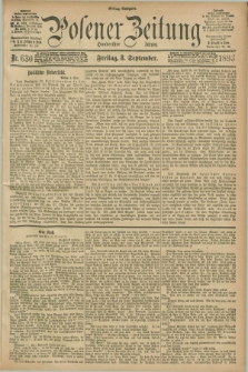 Posener Zeitung. Jg.100, Nr. 630 (8 September 1893) - Mittag=Ausgabe.