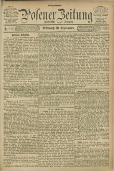 Posener Zeitung. Jg.100, Nr. 660 (20 September 1893) - Mittag=Ausgabe.