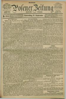 Posener Zeitung. Jg.100, Nr. 664 (21 September 1893) - Abend=Ausgabe.