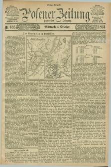 Posener Zeitung. Jg.100, Nr. 695 (4 Oktober 1893) - Morgen=Ausgabe. + dod.
