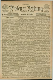 Posener Zeitung. Jg.100, Nr. 696 (4 Oktober 1893) - Mittag=Ausgabe.