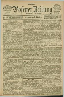 Posener Zeitung. Jg.100, Nr. 705 (7 Oktober 1893) - Mittag=Ausgabe.