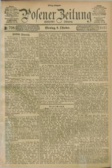 Posener Zeitung. Jg.100, Nr. 708 (9 Oktober 1893) - Mittag=Ausgabe.