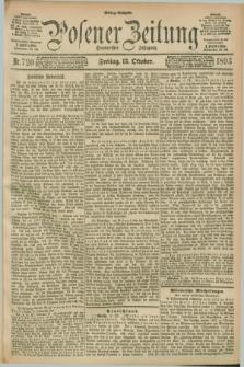 Posener Zeitung. Jg.100, Nr. 720 (13 Oktober 1893) - Mittag=Ausgabe.