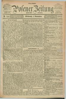 Posener Zeitung. Jg.100, Nr. 768 (1 November 1893) - Mittag=Ausgabe.