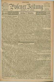 Posener Zeitung. Jg.100, Nr. 809 (17 November 1893) - Morgen=Ausgabe. + dod.