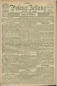 Posener Zeitung. Jg.100, Nr. 811 (17 November 1893) - Abend=Ausgabe.