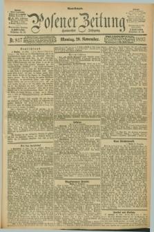 Posener Zeitung. Jg.100, Nr. 817 (20 November 1893) - Abend=Ausgabe.