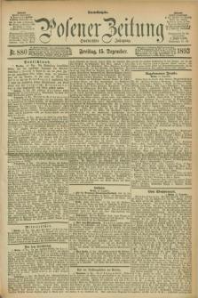 Posener Zeitung. Jg.100, Nr. 880 (15 Dezember 1893) - Abend=Ausgabe.