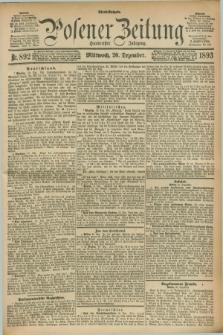 Posener Zeitung. Jg.100, Nr. 892 (20 Dezember 1893)