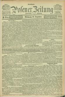 Posener Zeitung. Jg.100, Nr. 904 (27 Dezember 1893)