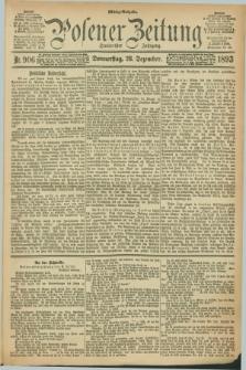 Posener Zeitung. Jg.100, Nr. 906 (28 Dezember 1893)