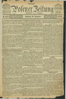 Posener Zeitung. Jg.100, Nr. 910 (29 Dezember 1893)