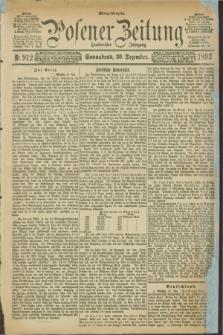 Posener Zeitung. Jg.100, Nr. 912 (30 Dezember 1893)