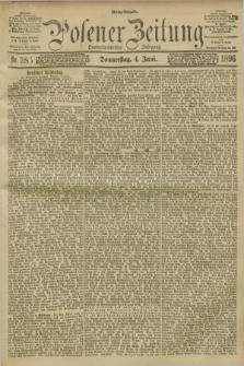 Posener Zeitung. Jg.103, Nr. 385 (4 Juni 1896) - Mittag=Ausgabe.