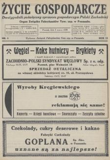Życie Gospodarcze : dwutygodnik poświęcony sprawom gospodarczym Polski Zachodniej : organ Związku Fabrykantów Tow. zap. w Poznaniu. R. 11 (1932), nr5
