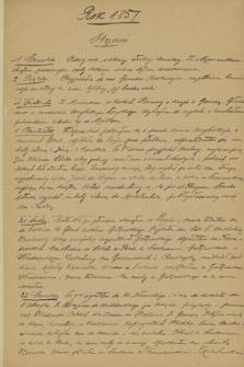 Dzienniki Józefa Bohdana Zaleskiego z lat 1851-1857, 1859, 1861, w kopiach, przeważnie sporządzonych przez Dionizego Zaleskiego. T. 7, Rok 1857