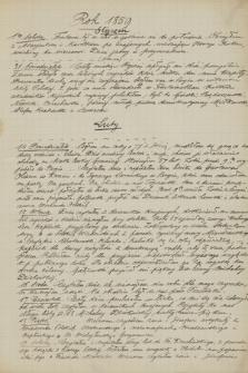 Dzienniki Józefa Bohdana Zaleskiego z lat 1851-1857, 1859, 1861, w kopiach, przeważnie sporządzonych przez Dionizego Zaleskiego. T. 8, Rok 1859