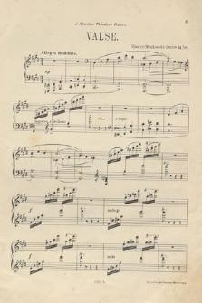Trois morceaux : pour piano : oeuvre 34. No. 1, Valse
