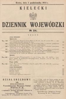 Kielecki Dziennik Wojewódzki. 1935, nr24