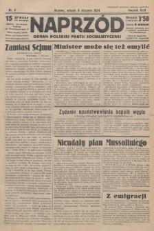 Naprzód : organ Polskiej Partji Socjalistycznej. 1934, nr5