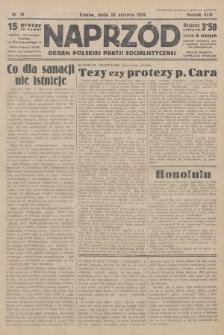 Naprzód : organ Polskiej Partji Socjalistycznej. 1934, nr18