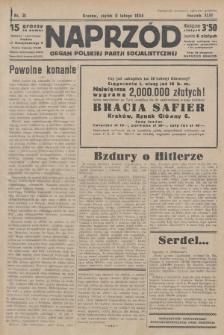 Naprzód : organ Polskiej Partji Socjalistycznej. 1934, nr31