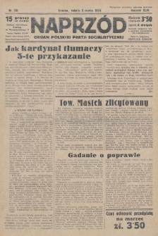 Naprzód : organ Polskiej Partji Socjalistycznej. 1934, nr50