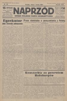 Naprzód : organ Polskiej Partji Socjalistycznej. 1934, nr53 (po konfiskacie nakład drugi)
