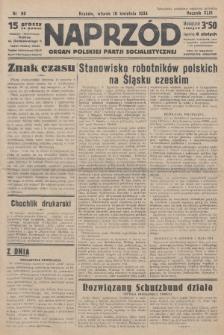 Naprzód : organ Polskiej Partji Socjalistycznej. 1934, nr80