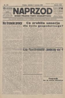 Naprzód : organ Polskiej Partji Socjalistycznej. 1934, nr122