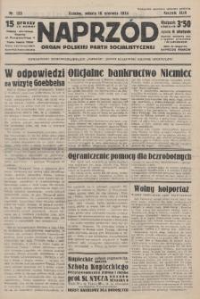 Naprzód : organ Polskiej Partji Socjalistycznej. 1934, nr133
