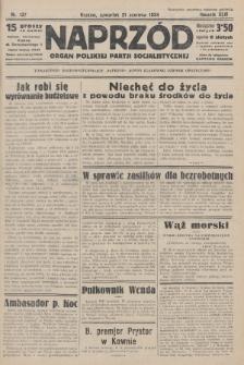 Naprzód : organ Polskiej Partji Socjalistycznej. 1934, nr137