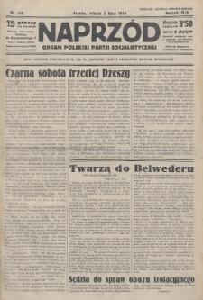 Naprzód : organ Polskiej Partji Socjalistycznej. 1934, nr146