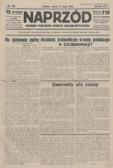Naprzód : organ Polskiej Partji Socjalistycznej. 1934, nr158