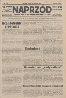 Naprzód : organ Polskiej Partji Socjalistycznej. 1934, nr174