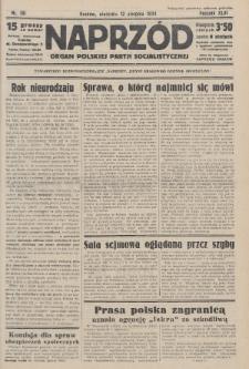 Naprzód : organ Polskiej Partji Socjalistycznej. 1934, nr181