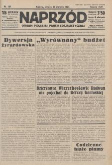 Naprzód : organ Polskiej Partji Socjalistycznej. 1934, nr187