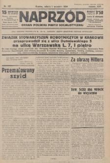 Naprzód : organ Polskiej Partji Socjalistycznej. 1934, nr197
