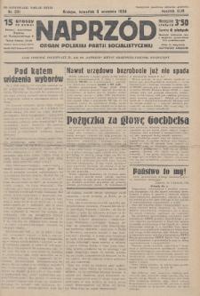 Naprzód : organ Polskiej Partji Socjalistycznej. 1934, nr201 (po konfiskacie nakład drugi)