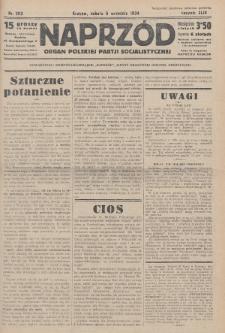 Naprzód : organ Polskiej Partji Socjalistycznej. 1934, nr203