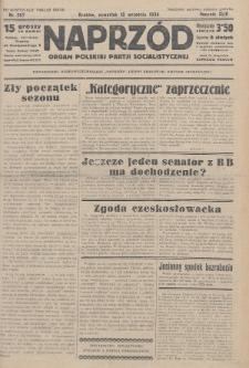 Naprzód : organ Polskiej Partji Socjalistycznej. 1934, nr207 (po konfiskacie nakład drugi)