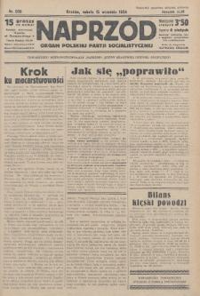 Naprzód : organ Polskiej Partji Socjalistycznej. 1934, nr209