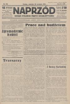 Naprzód : organ Polskiej Partji Socjalistycznej. 1934, nr216