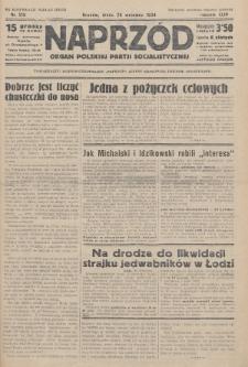 Naprzód : organ Polskiej Partji Socjalistycznej. 1934, nr218 (po konfiskacie nakład drugi)