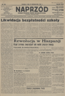 Naprzód : organ Polskiej Partji Socjalistycznej. 1934, nr230