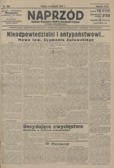 Naprzód : organ Polskiej Partji Socjalistycznej. 1934, nr266