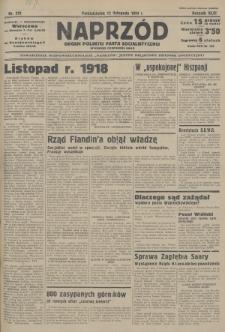 Naprzód : organ Polskiej Partji Socjalistycznej. 1934, nr270