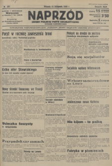Naprzód : organ Polskiej Partji Socjalistycznej. 1934, nr271